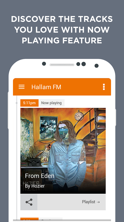 Radio Hallam- screenshot