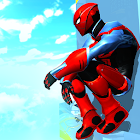 Strange Robot Spider hero: Superhero fighting game