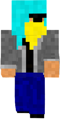 A neon version of my skin