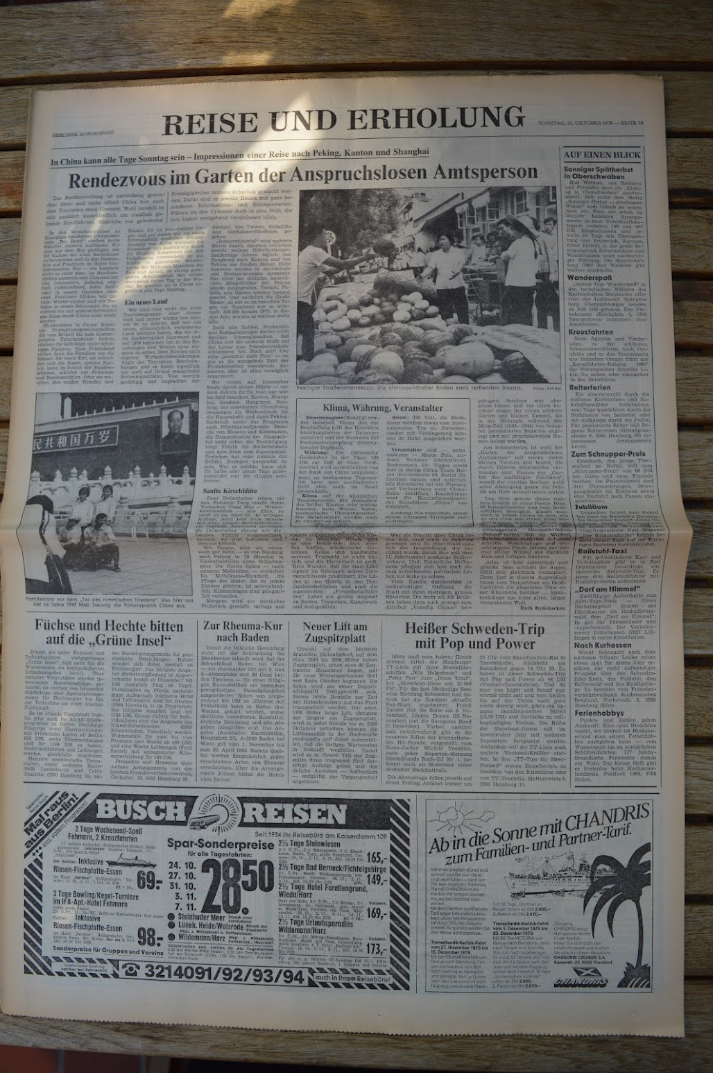 Berliner Morgenpost (West-Berlin) 21.10.1979