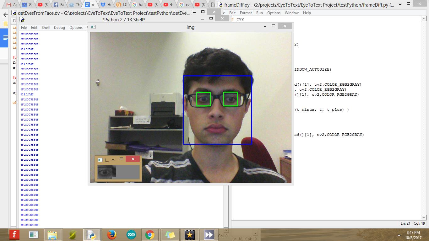 Eye Blink Detection Algorithms | Details | Hackaday io