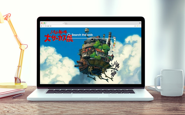 Howl's Moving Castle New Tab Theme