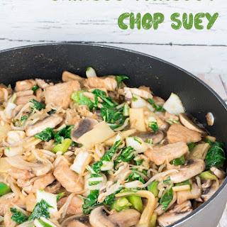 Chinese Takeout Chop Suey.
