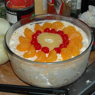Orange Ambrosia Salad