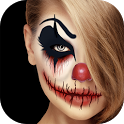 Scary Clown Face Maker - Creepy Photo Effects icon