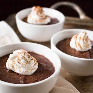 Chinese Five Spice Chocolate Pots de Creme