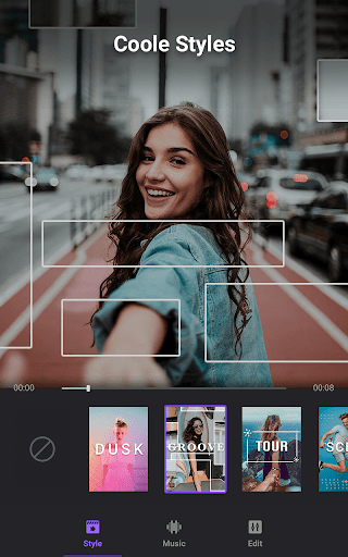 Video Maker von Fotos mit Music & Video Editor screenshot 2