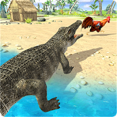 Crocodile Simulator Beach Attack 2019 Android APK Download Free By US Offroad Gamers