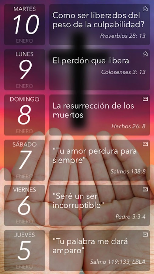 Oración Diaria- screenshot