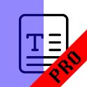 Light Filter Premium - Blue color, red color icon