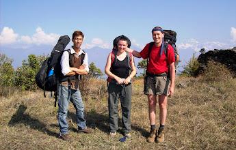 Photo: und können mit Pal Christina & Ralf ein richtiges Touristenfoto schießen.