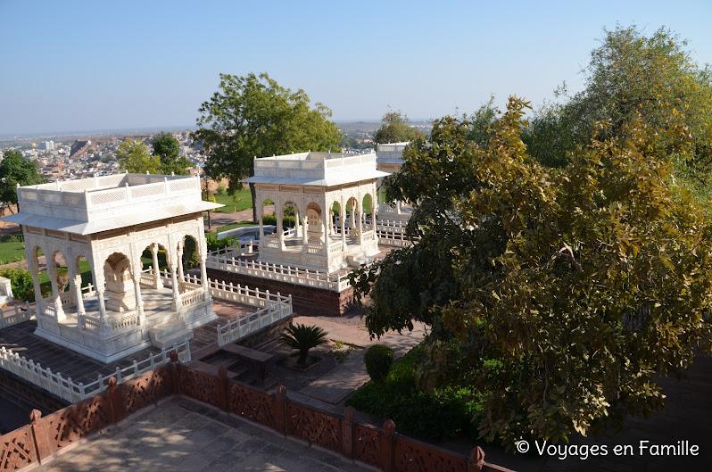 Jaswant thada Jodhpur, cenotaphes