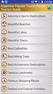 Argentina Popular Tourist Places Tourism Guide - náhled