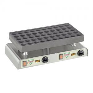 50 dops poffertjesplaat huren  -elektrisch