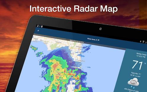 Weather Elite by WeatherBug Screenshot