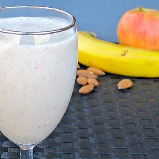 Almond Protein Smoothie.