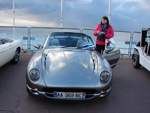 Photo: Blackpool (berceau de TVR) seafront? Non ! Nice, Promenade des anglais... Cet belel Chimaera était déjà là l'an dernier. Un V8 au bruit magnifique...