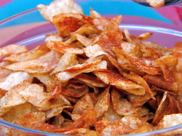 Homemade Bbq Potato Chips Recipe