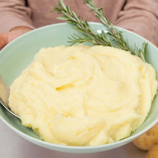 Yukon Gold Potato Puree with Rosemary Butter