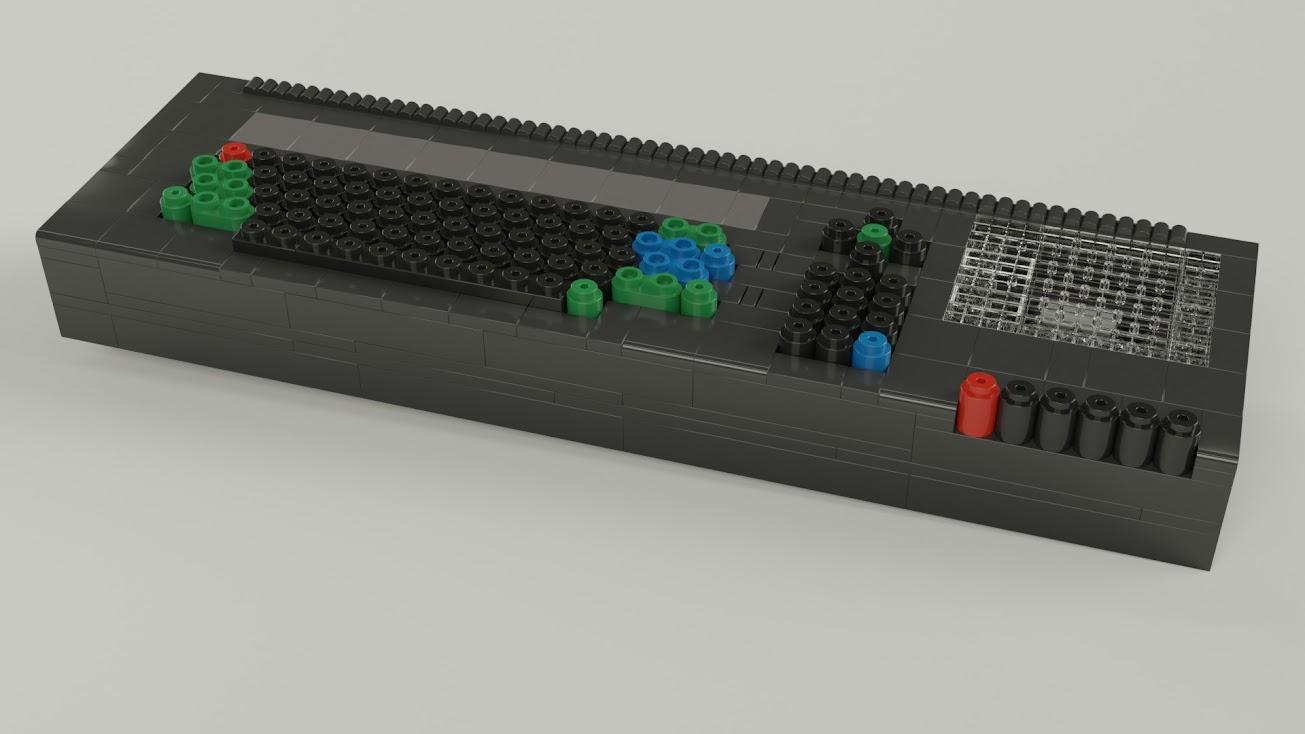 Amstrad CPC 464 de TENTE 3D