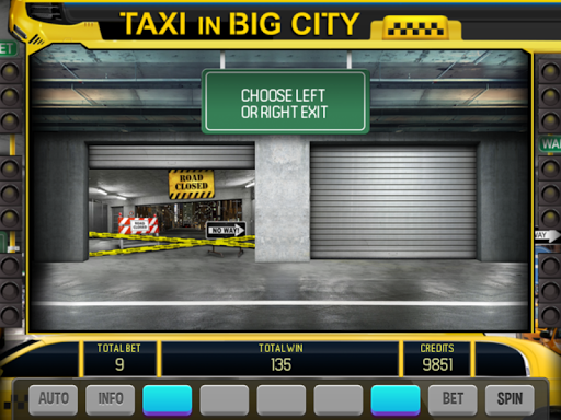 Slot machine taxi