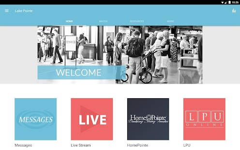 Lake Pointe Church- screenshot thumbnail