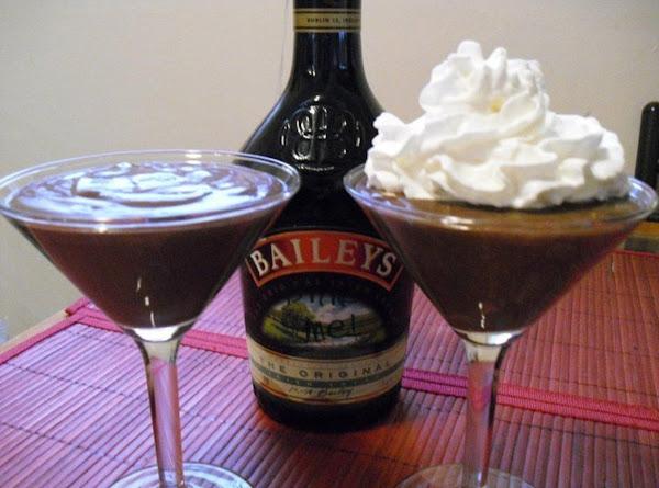 Chocolate Irish Cream Pudding Recipe