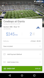 SeatGeek Event Tickets Screenshot 3