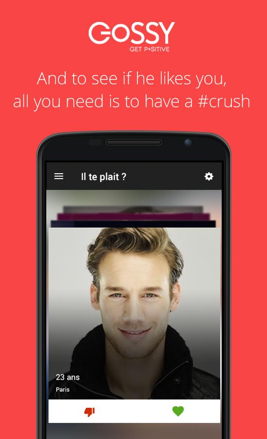 Chat & Dating on Gossy- screenshot