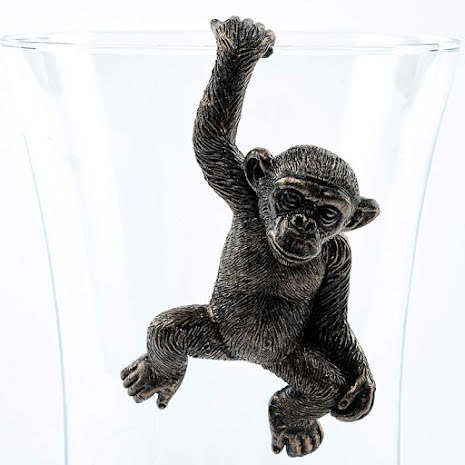 Krukdekoration, schimpans