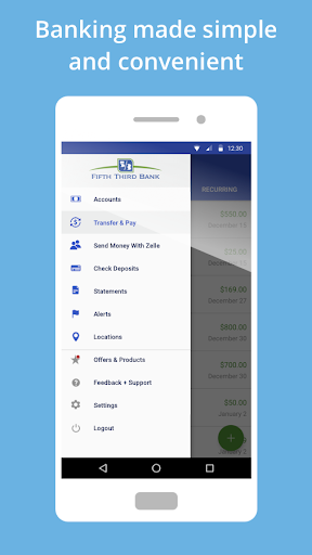 Fifth Third Mobile Banking Screenshot