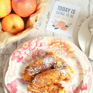 Apple & Curd Cheese Fritters.
