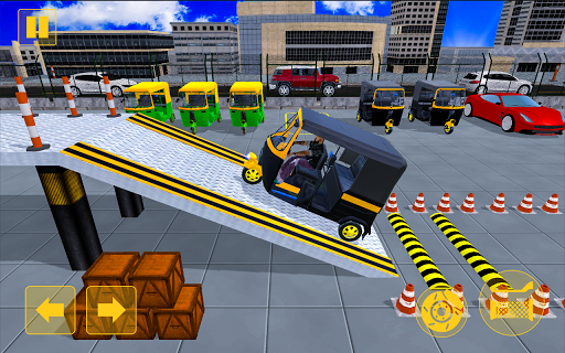 Rickshaw Driving Adventure u2013 Tuk Tuk Parking Game apkmind screenshots 3
