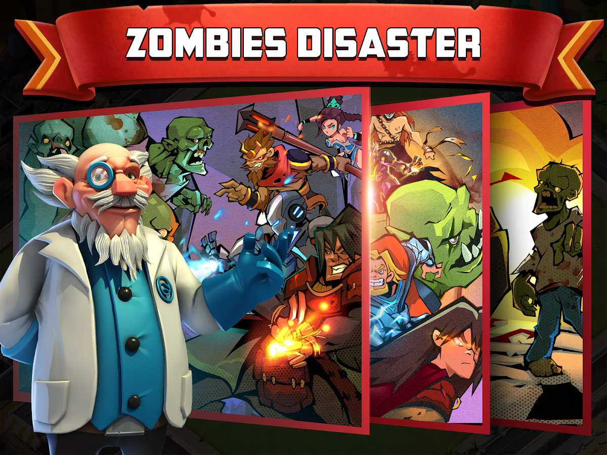 Clash of Zombies 2: Atlantis- screenshot