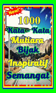 1000 Kata Kata Mutiara Bijak Semangat Motivasi Stahuj Cz