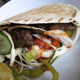 Home Made Doner Kebab.