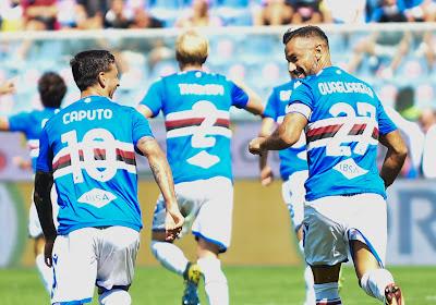 Serie A: première victoire de la saison pour la Sampdoria