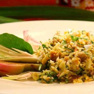 Rice Herb Salad.