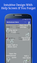 Motivational Alarm Clock - Wake Up Inspired APK screenshot thumbnail 8