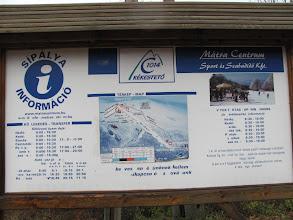 Photo: Im Winter gehört der Berg zu einem Skigebiet