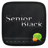 FREE-GO SMS SENIOR BLACK THEME