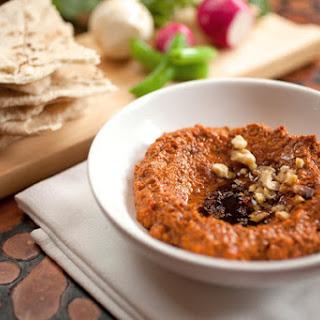 Muhammara (Red Pepper and Walnut Spread)