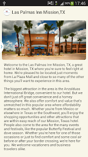 Las Palmas Inn Mission,TX- screenshot thumbnail
