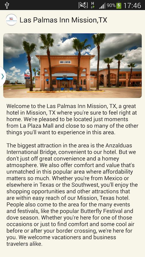 Las Palmas Inn Mission,TX- screenshot