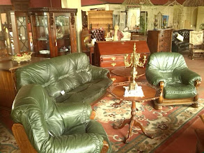 Photo: Oh my, a fantastic drawing room display at The Big Chair company, and a fraction of the cost of modern suites.