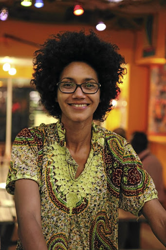 African flavour: Zoe Adjonyoh set up Zoe's Ghana Kitchen, a UK pop-up restaurant in Brixton's box park, a collection of restaurants and boutiques housed in shipping containers. Picture: yw