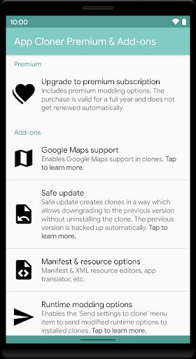 App Cloner Premium & Add-ons