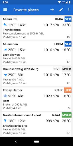 Avia Weather - METAR & TAF 2.11.6 Screenshots 1