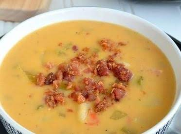 Cheesy Potato And Bacon Chowder Recipe