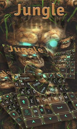 Jungle GO Keyboard Theme